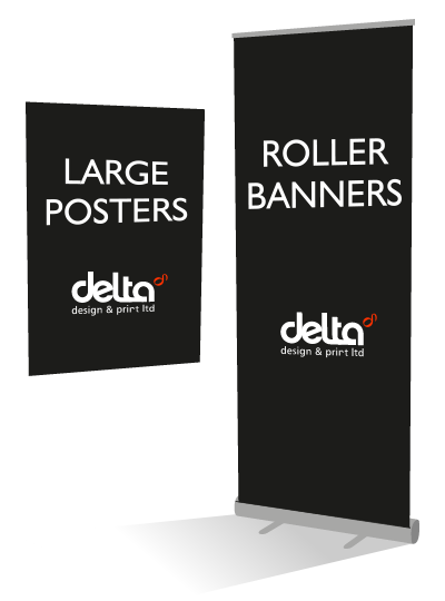 Large format banners and posters